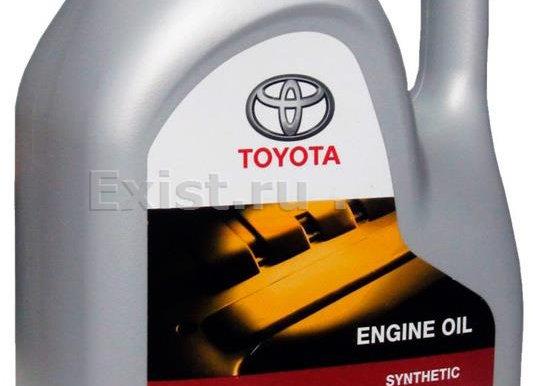 TOYOTA ENGINE OIL 5W-40 5 л.