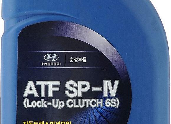 """Hyundai/Kia 04500-00115 Масло трансмиссионное синтетическое """"ATF SP-IV"""", 1л"""