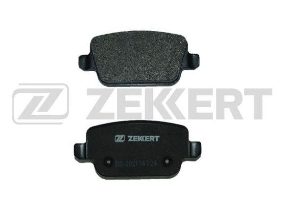 BS2821 ZEKKERT Колодки торм. диск. зад Ford Focus II 05- Galaxy II 06- Mondeo