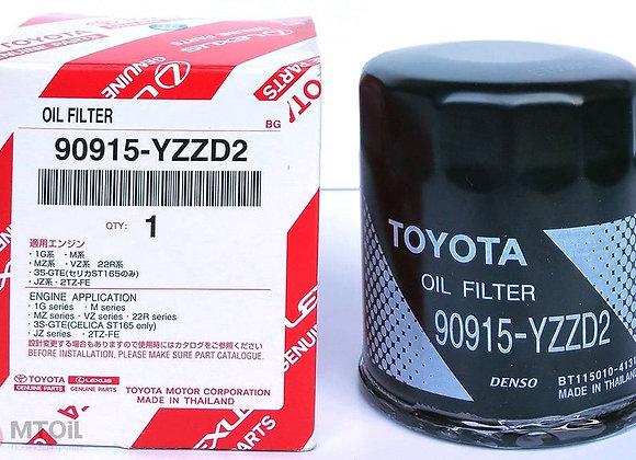 Фильтр масляный оригинальный Toyota 90915-YZZD2