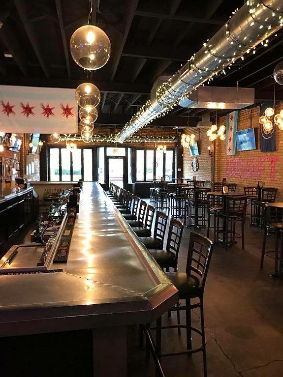Draft Bar Chicago interior