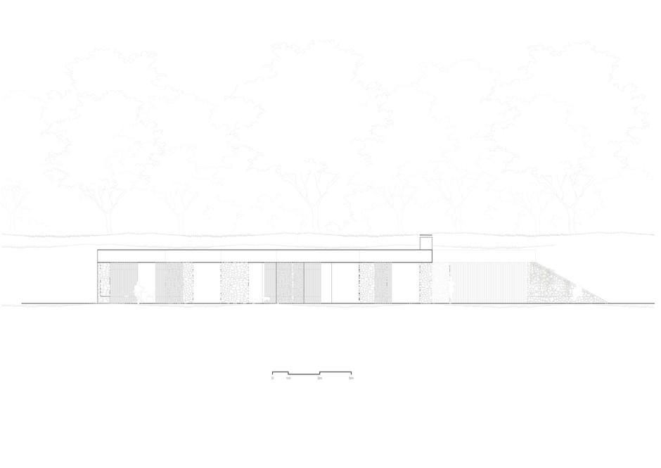 Proposed West Elevation