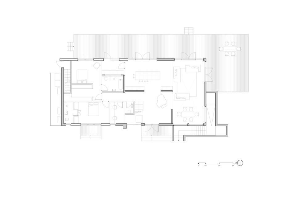 Reconfigured Ground Floor Plan
