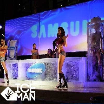 Bar tallado en Hielo Samsung IceMan Chil