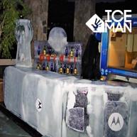 Bar tallado en Hielo Motorola IceMan Chi