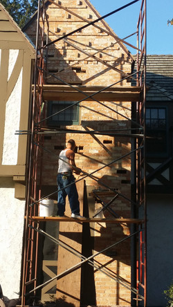 Brick removal & replacement