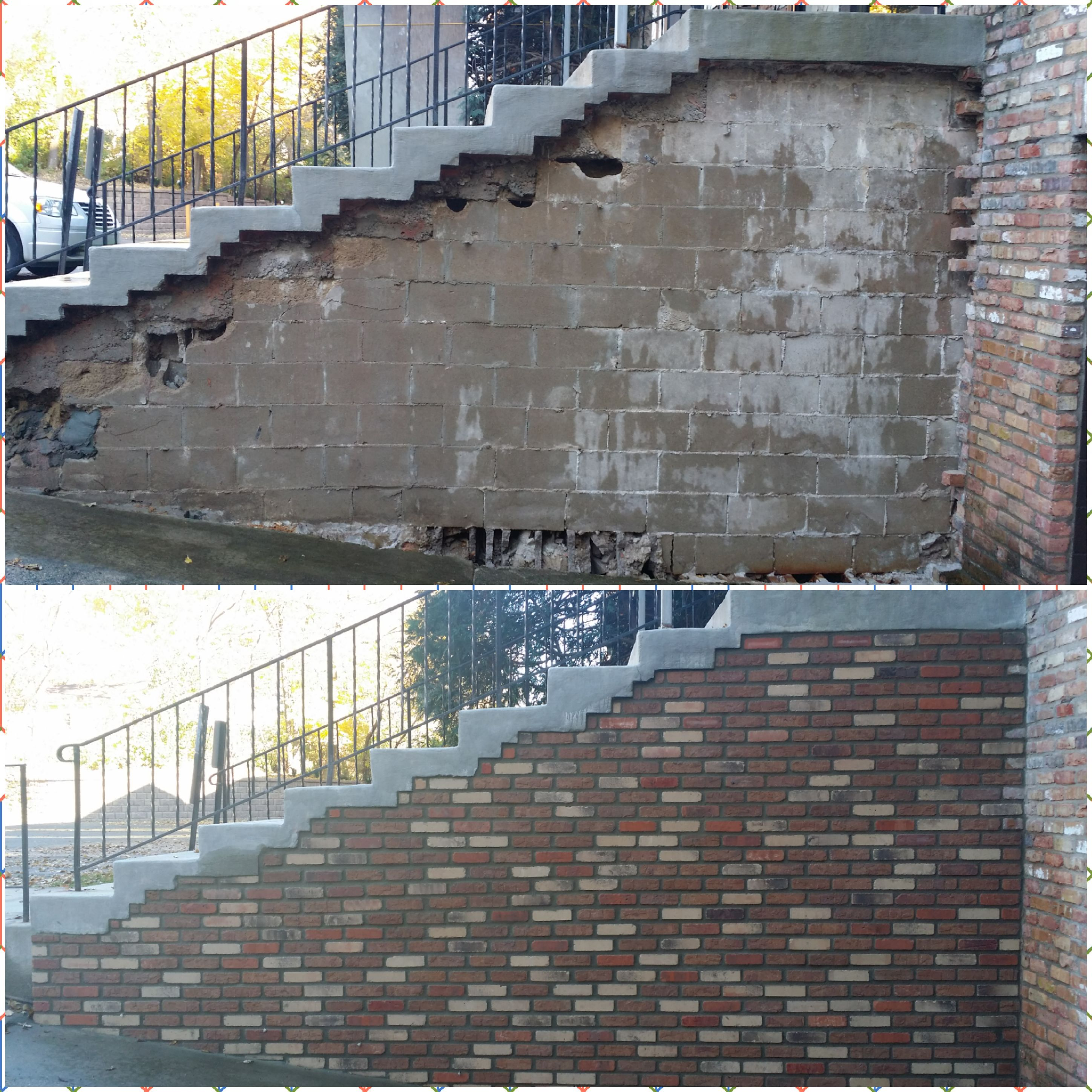 Brick Wall Repair (2)