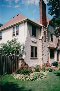 Brick & Stucco Combo Chimneys (2)