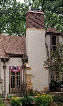 Brick & Stucco Combination Chimneys (12)