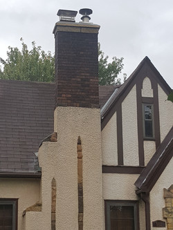 Brick & Stucco Combo Chimneys (4)