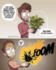 Adam tots plants