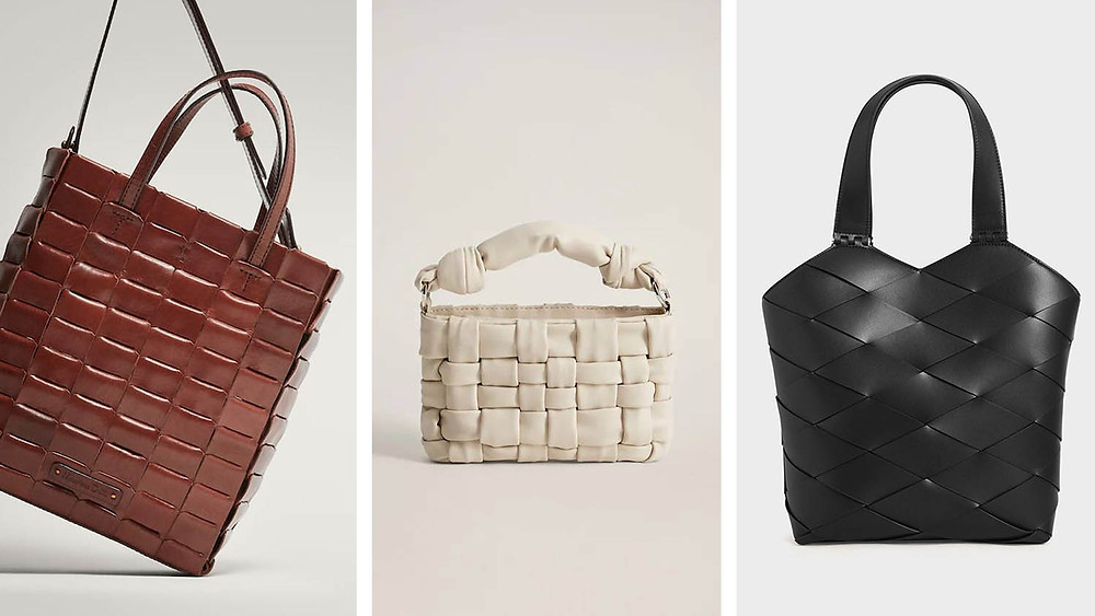 Braided design bag ideas