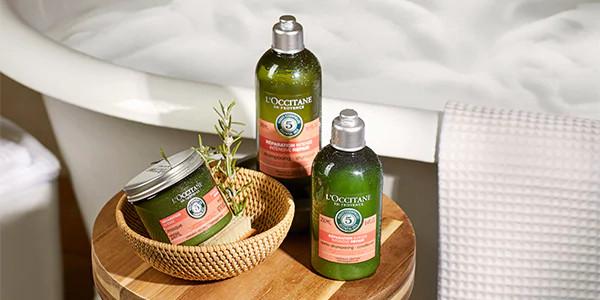 L'Occitane hair repairing line