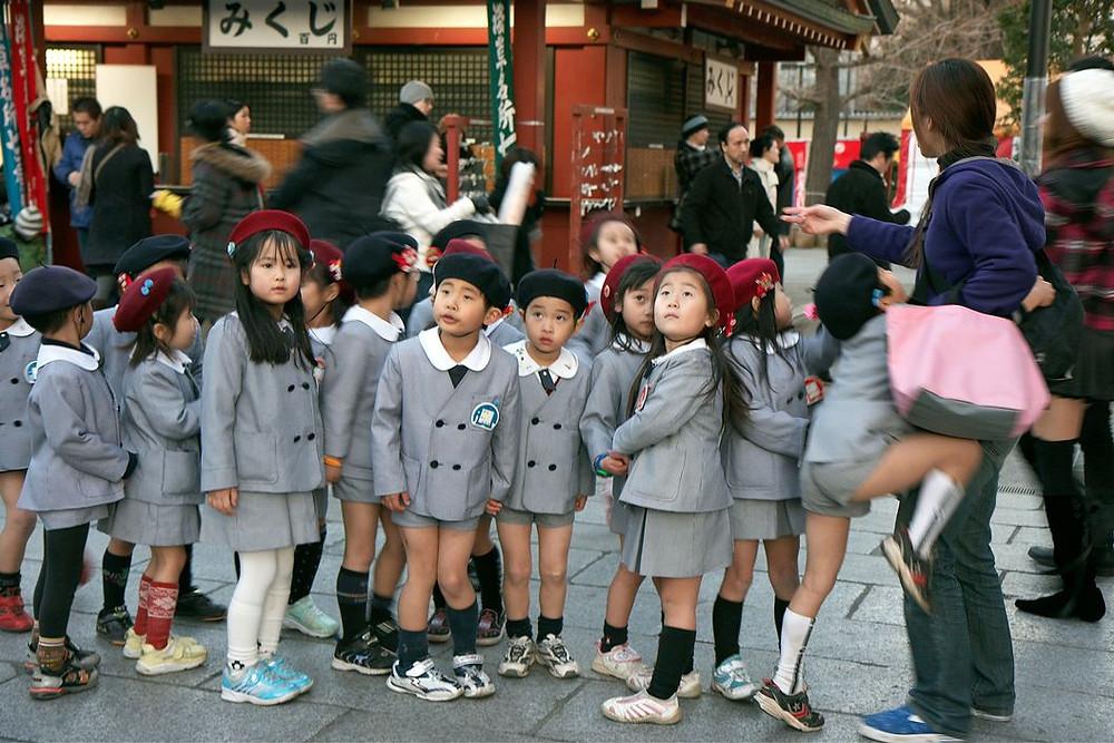 school uniforms in tokyo