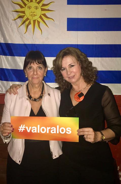 Teresa Aishemberg y Marianela Martínez Clavell