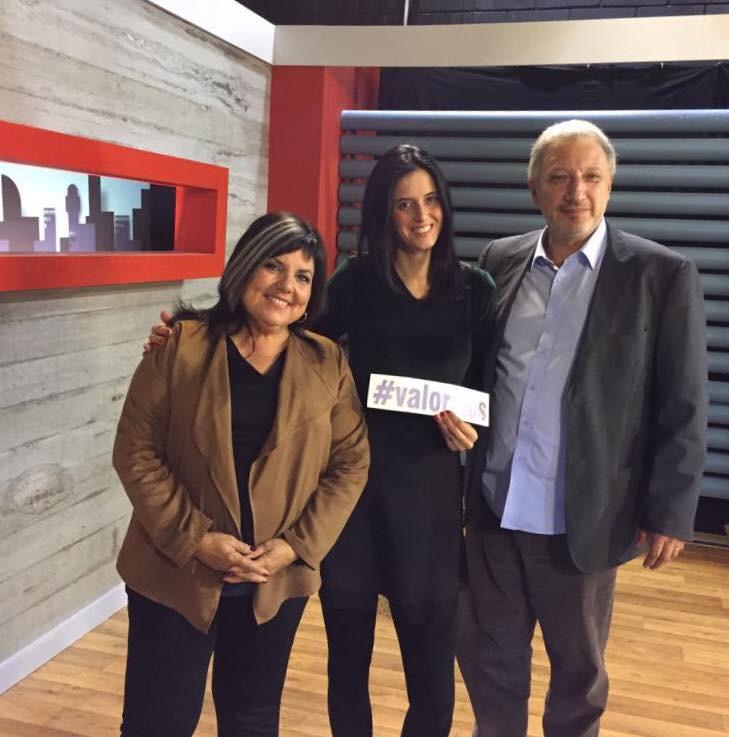 María Inés Obaldía, Rosanna Balmelli y Gerardo Sotelo