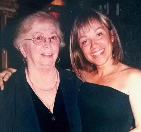 Rosario Castillos y su mamá
