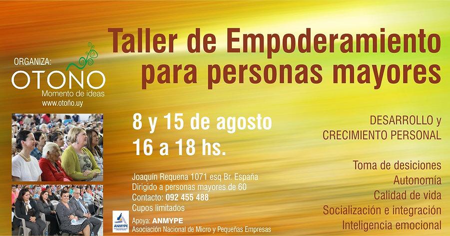 Taller de Empoderamiento para personas mayores