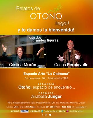 Charla Cristina Morán, Carlos Perciavalle