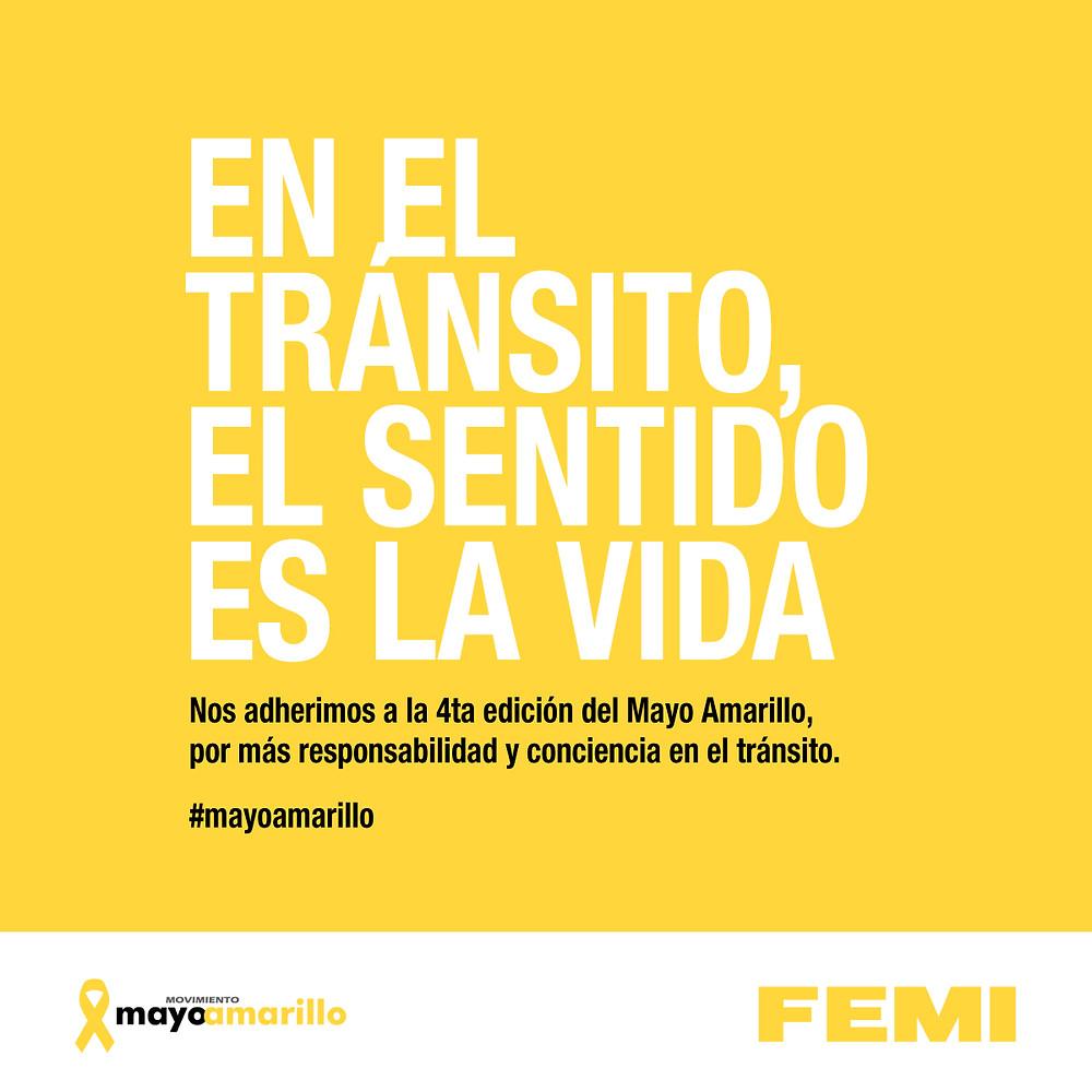 #mayoamarillo