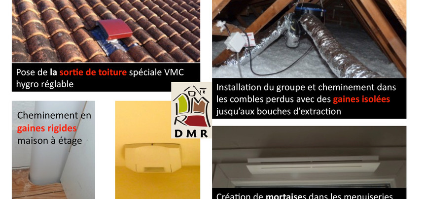 DMR RÉNOVATION installation vmc-hygro-reglable ventilation