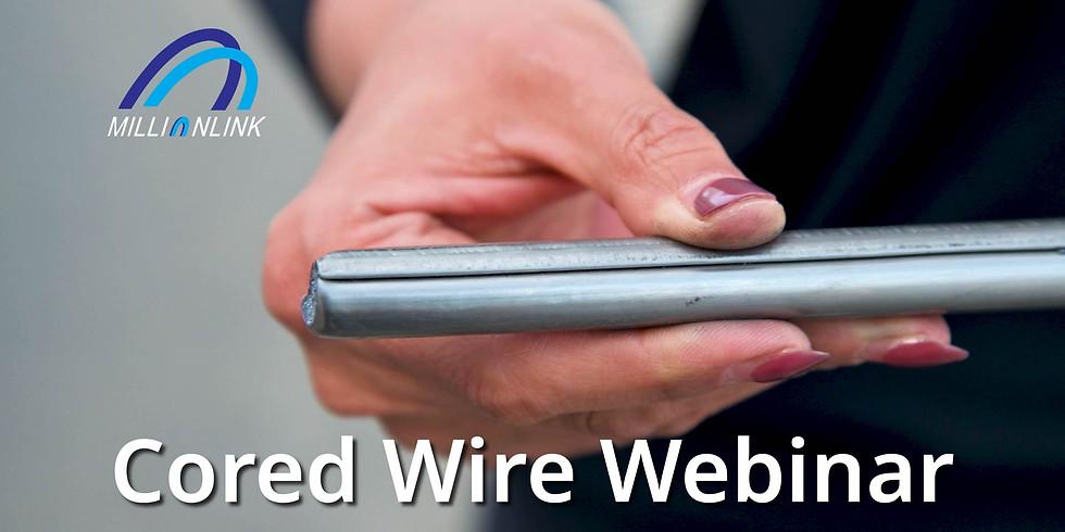 Cored Wire Webinar