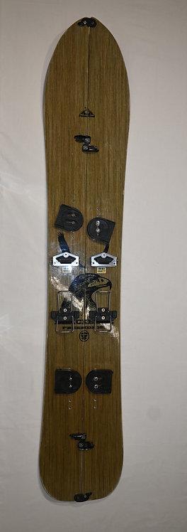 Splitboard + attacchi + pelli