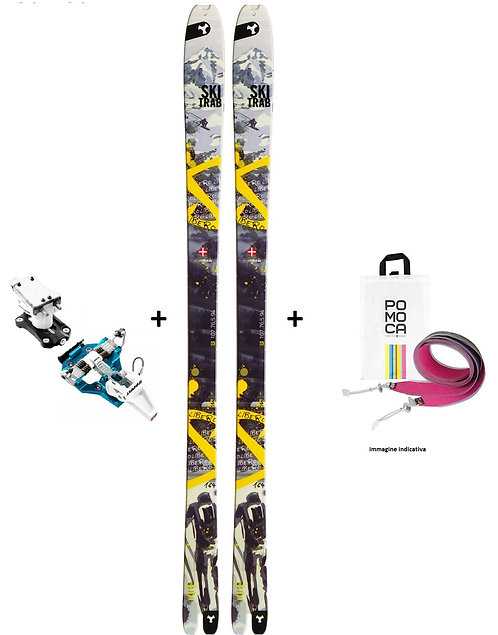 Ski Trab Libero + Attacco + Pelli
