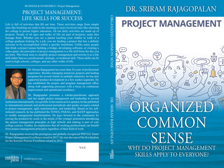 Project Management is a Life Skill