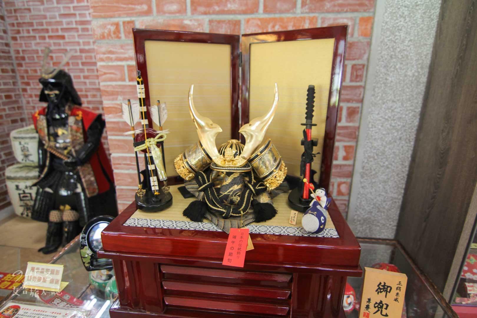 日本武士展品