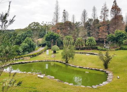 陳家農場坐擁一大片埤塘
