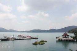 伊達邵碼頭湖景