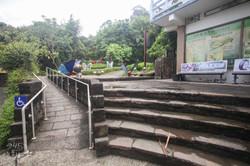 昆蟲生態園區入口斜坡