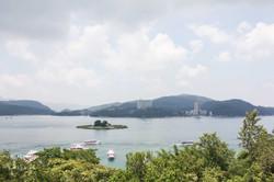 玄光寺碼頭觀湖風景
