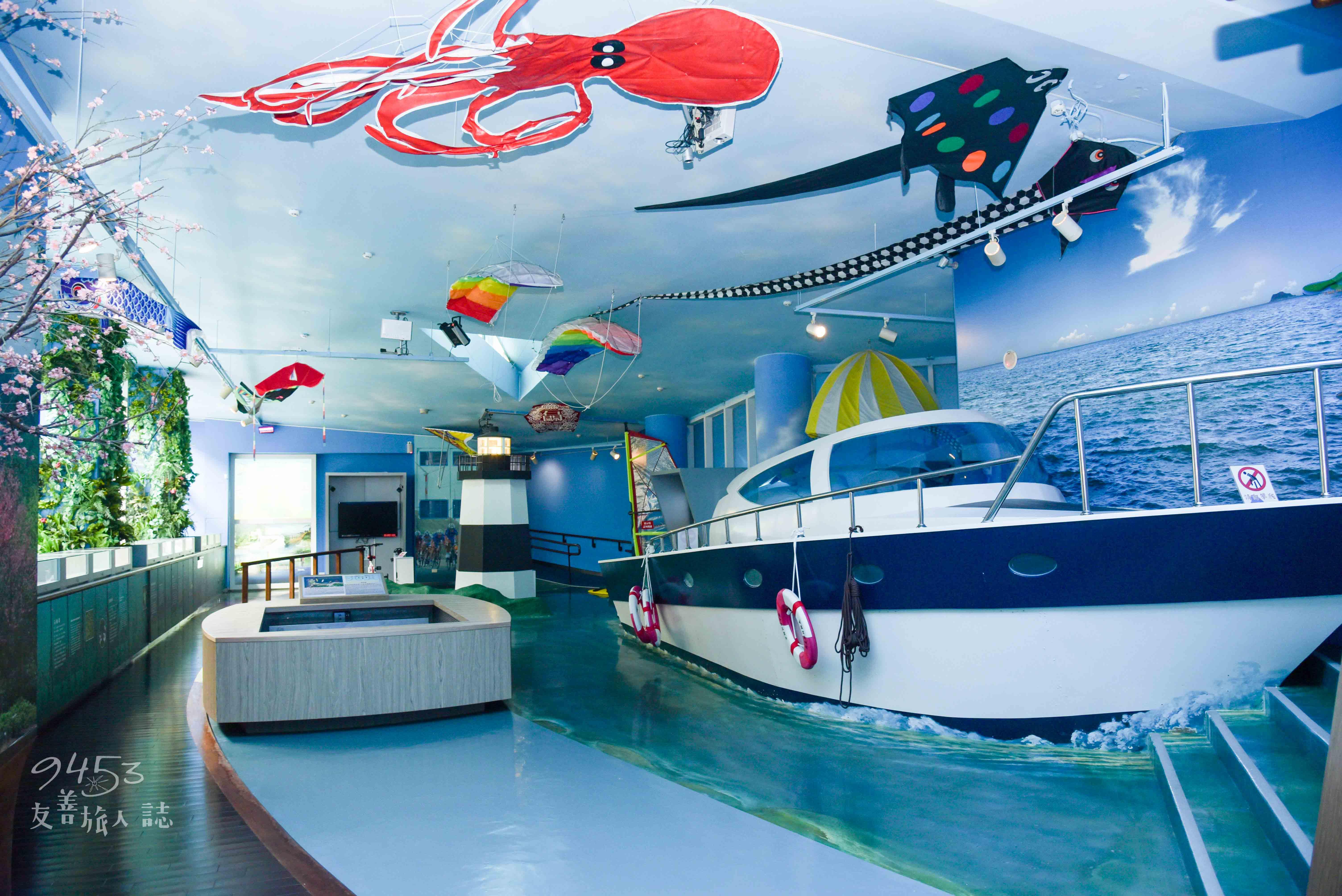 室內探索海洋生態的大寶庫