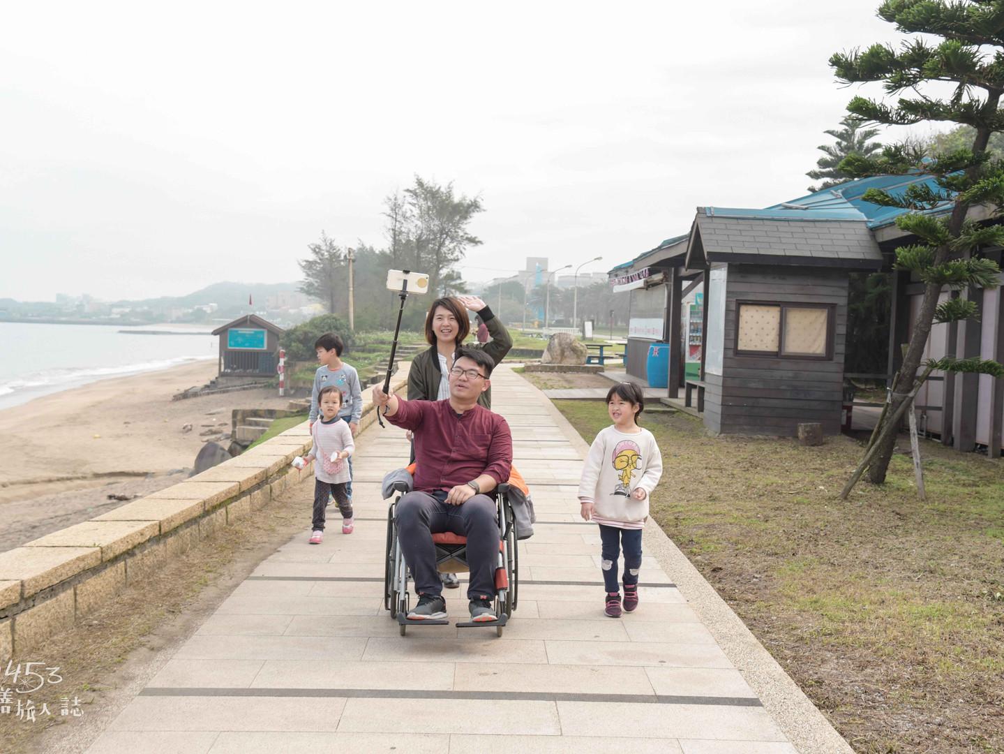 淺水灣南側觀海步道