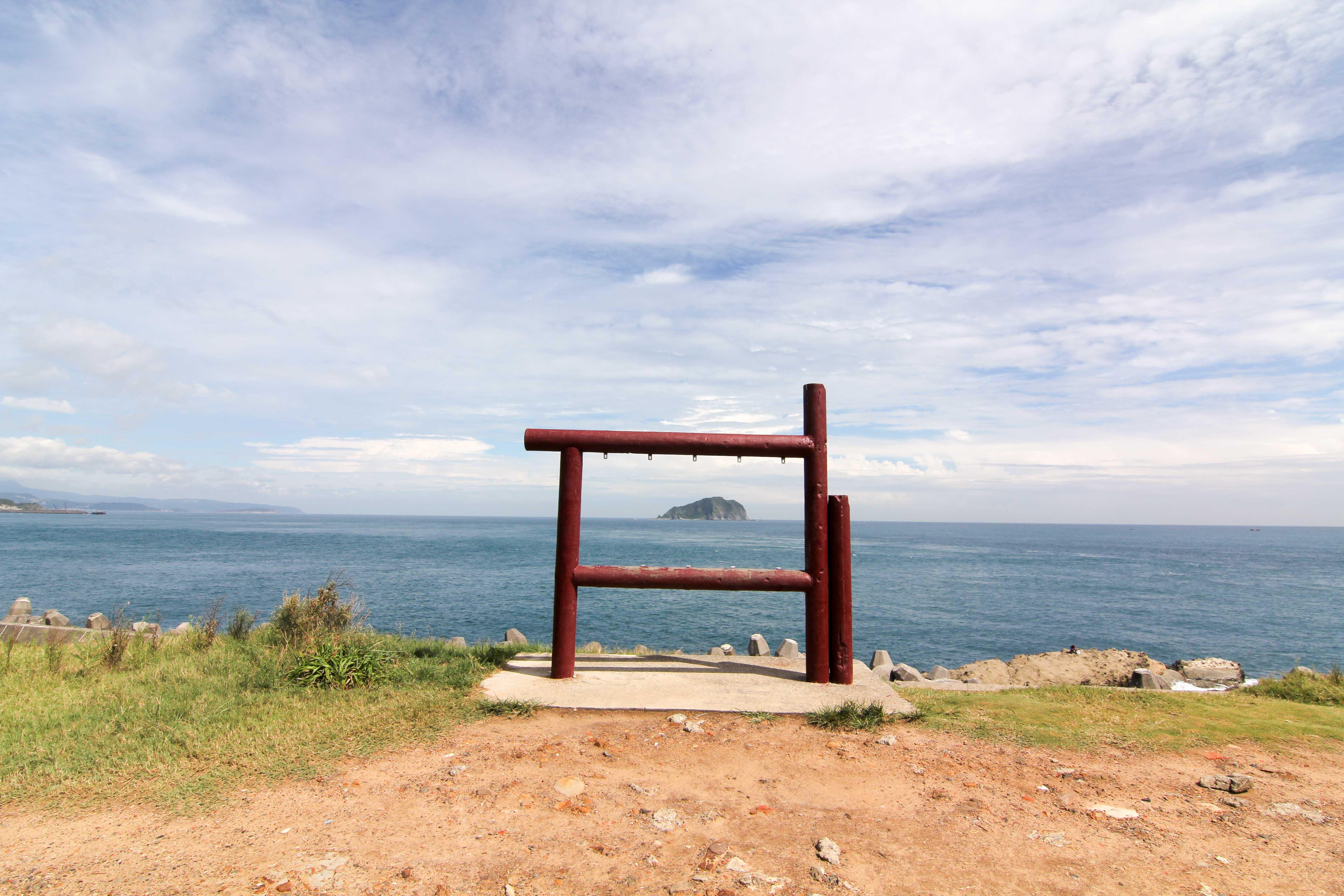 潮境公園拍照框\