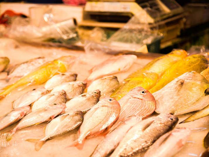 南寮漁港新鮮魚貨