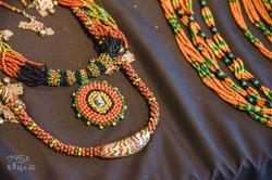 部落琉璃珠飾品