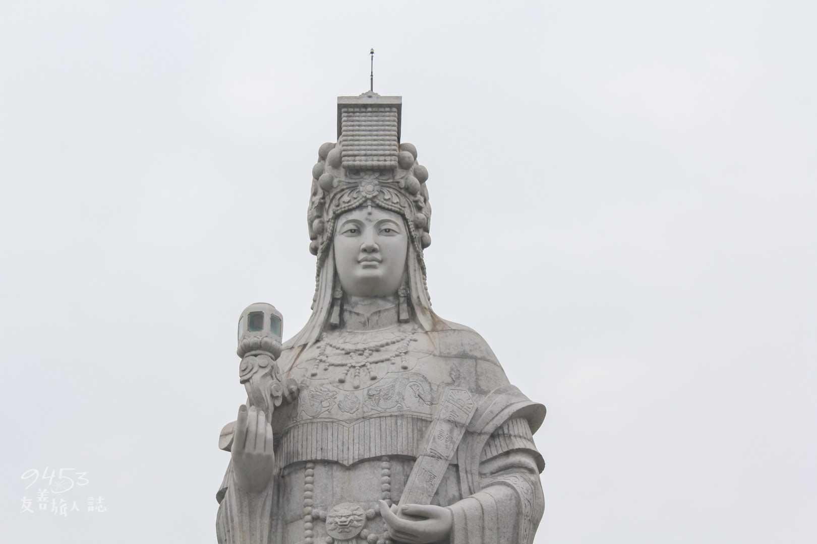 宗教文化園區媽祖神像