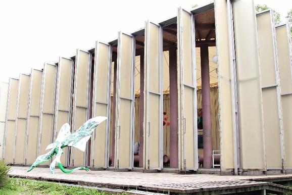 9453|南投|埔里桃米生態村。全台唯一夢幻紙教堂