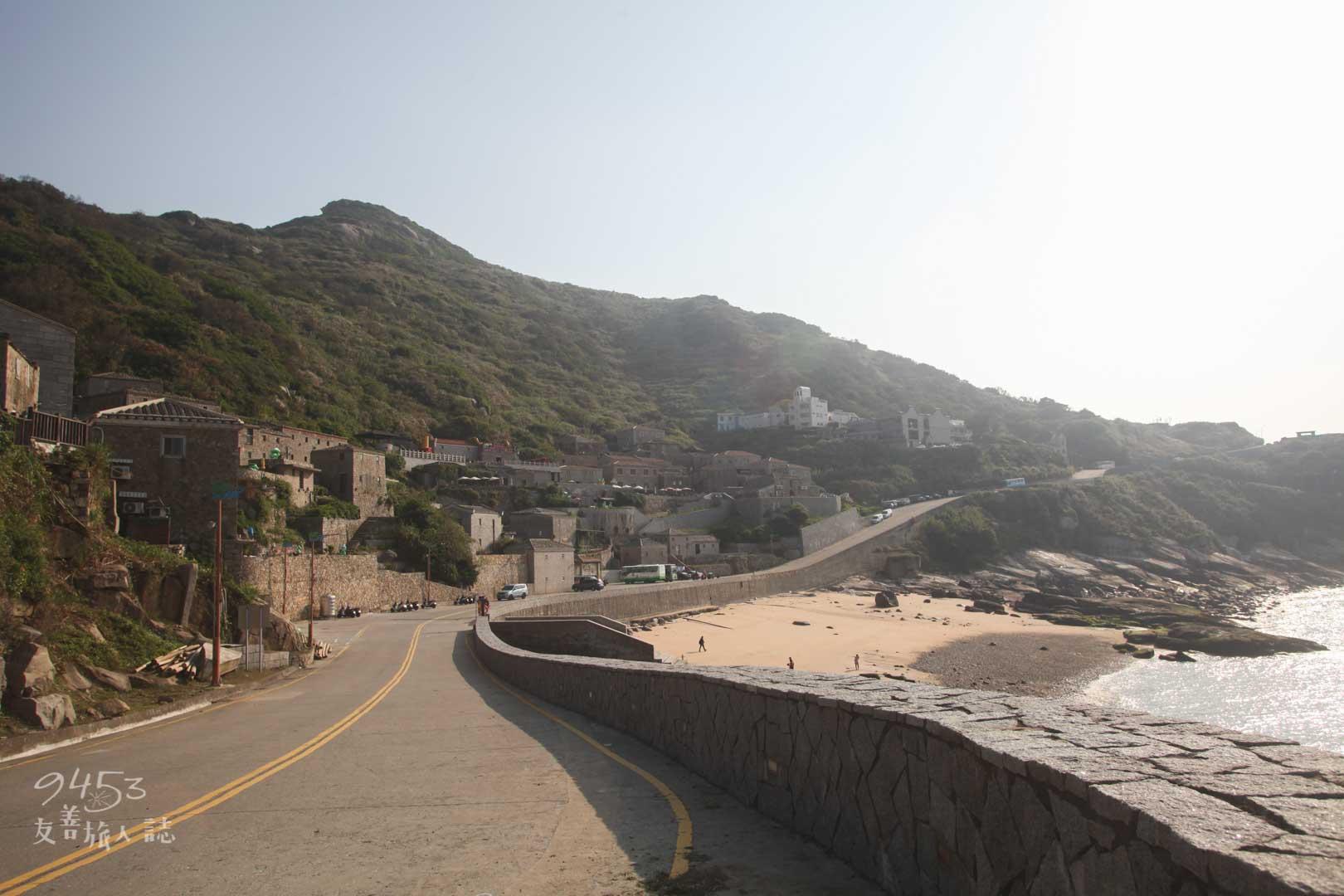 芹壁村旁沿海公路