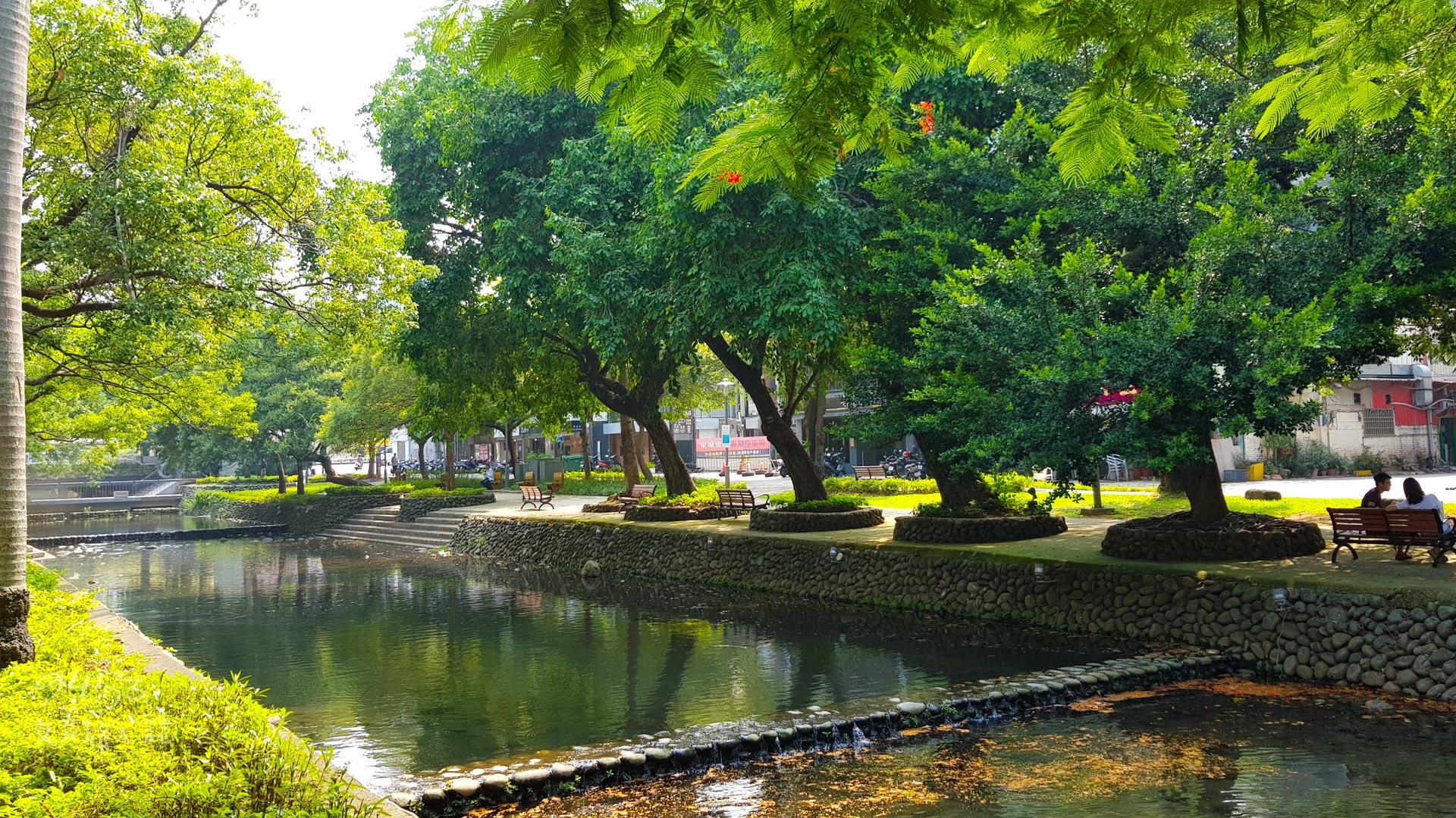 護城河環境