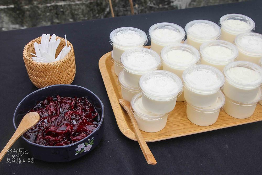 崁頂社區媽媽自製的奶酪