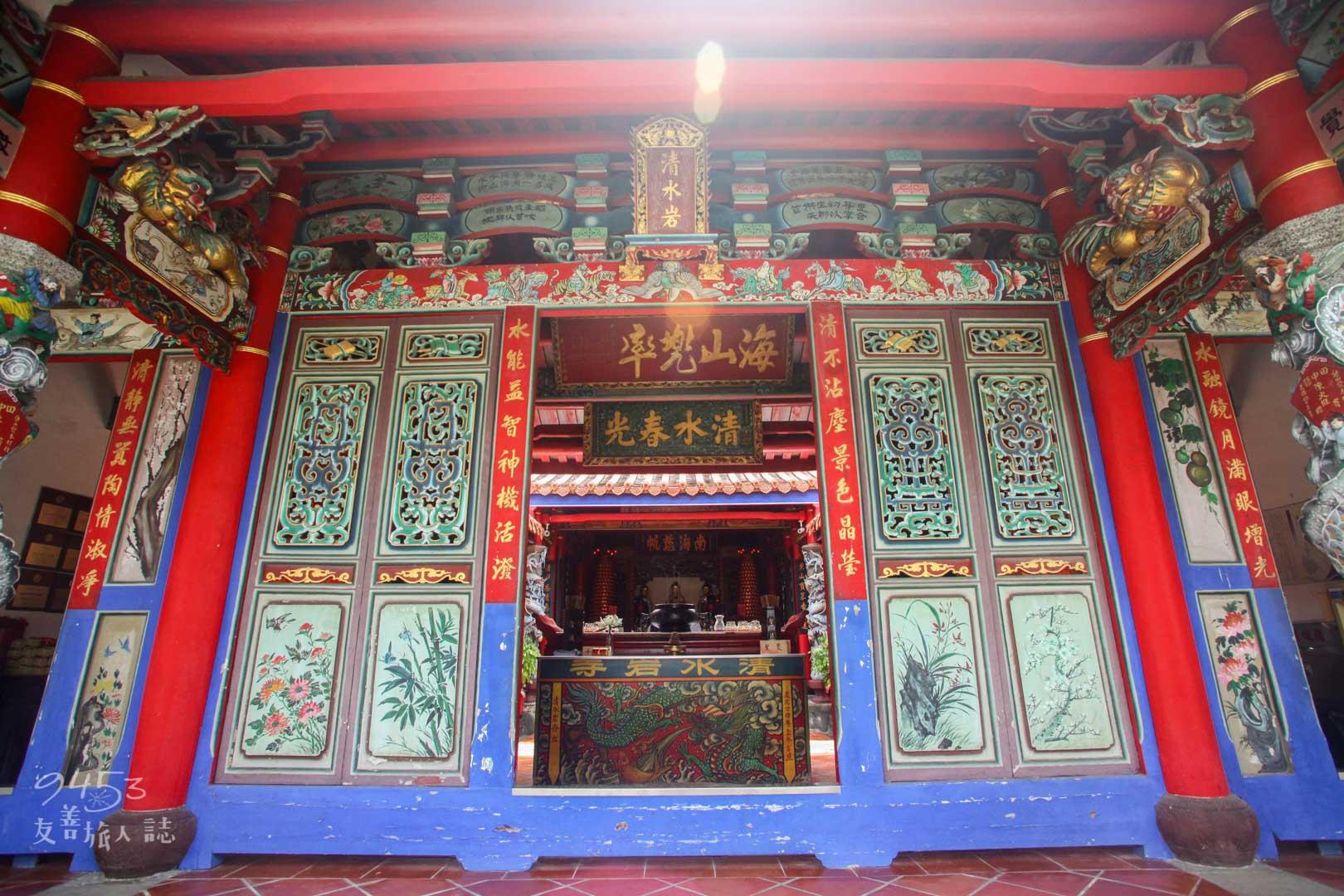 寺廟正門外觀