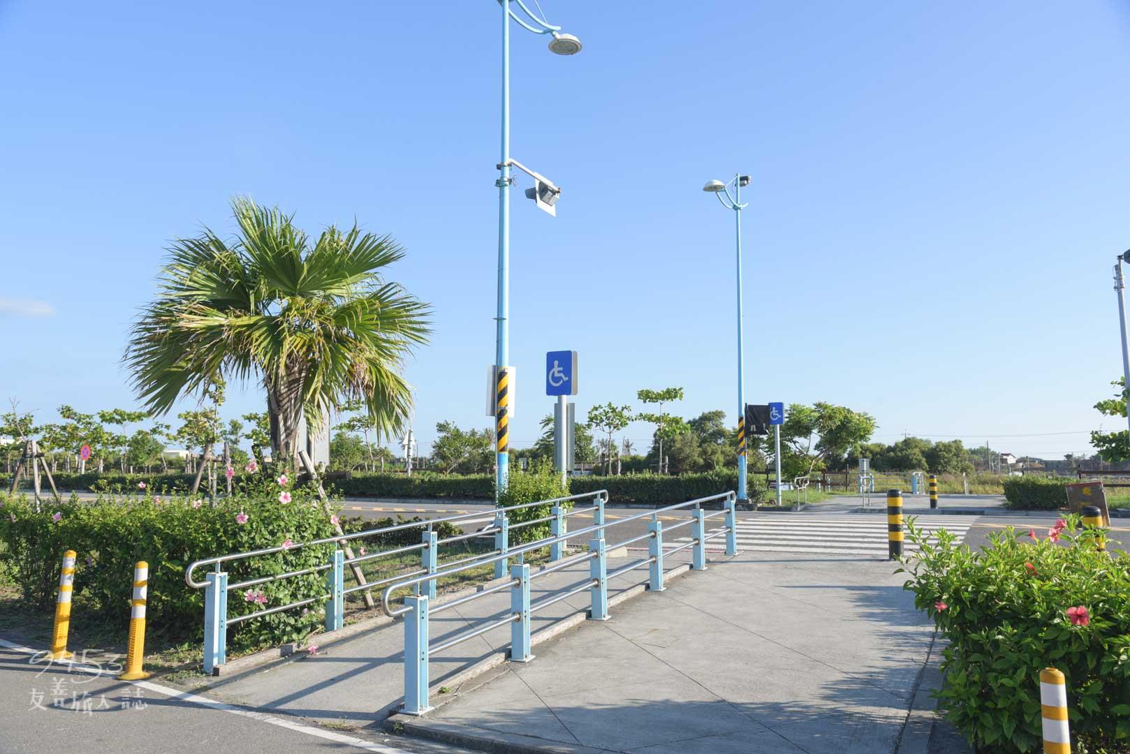 濱灣公園無障礙坡道