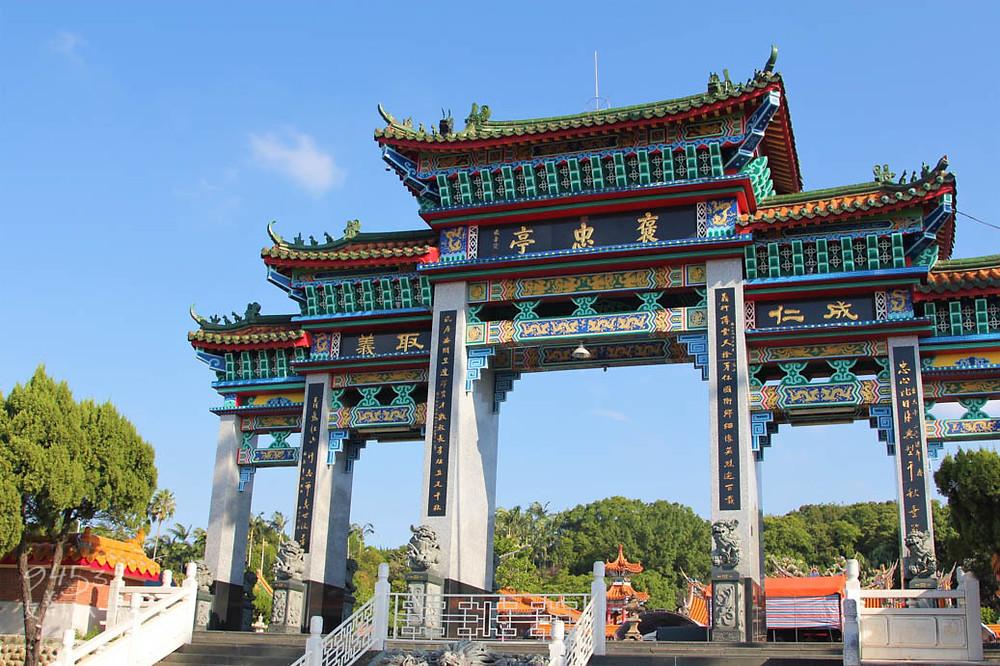 新埔歷史超過百年的褒忠亭義民廟