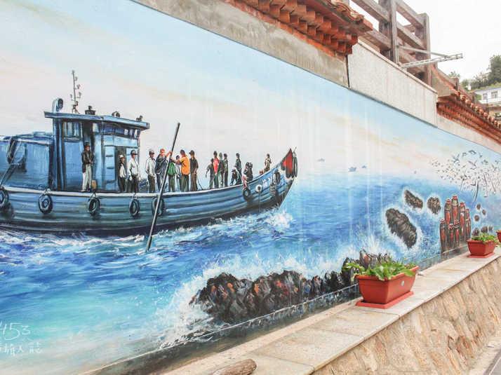 津沙聚落彩繪壁畫