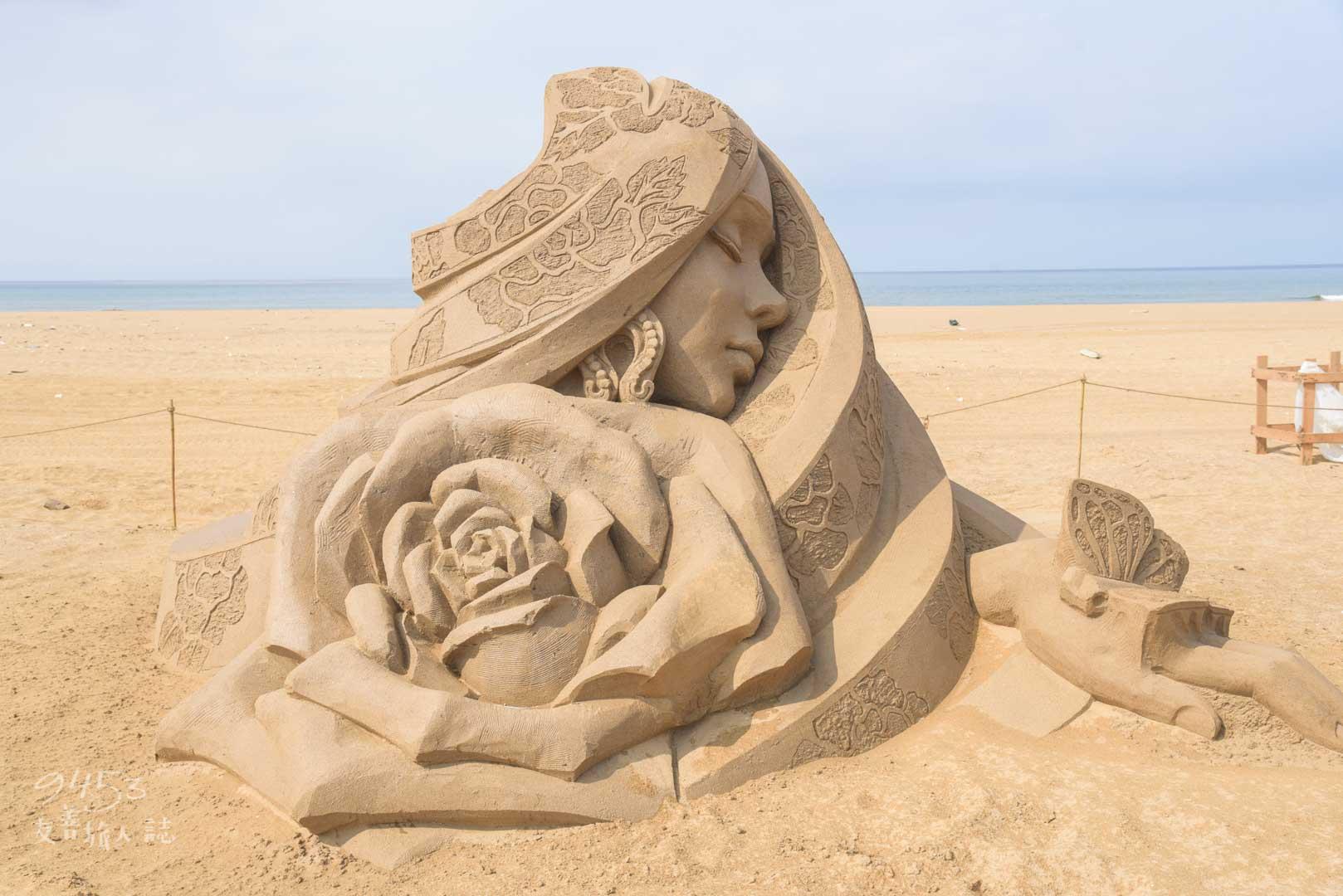 沙雕藝術節作品