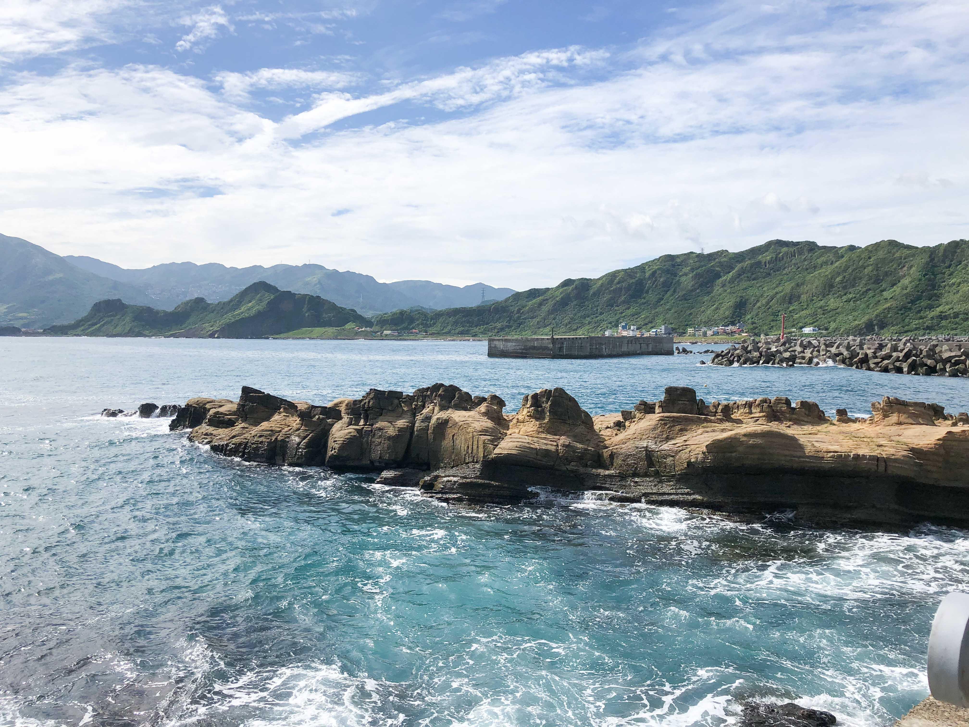 近距離觀賞濱海地景